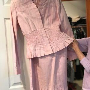 2 piece set: jacket and matching skirt
